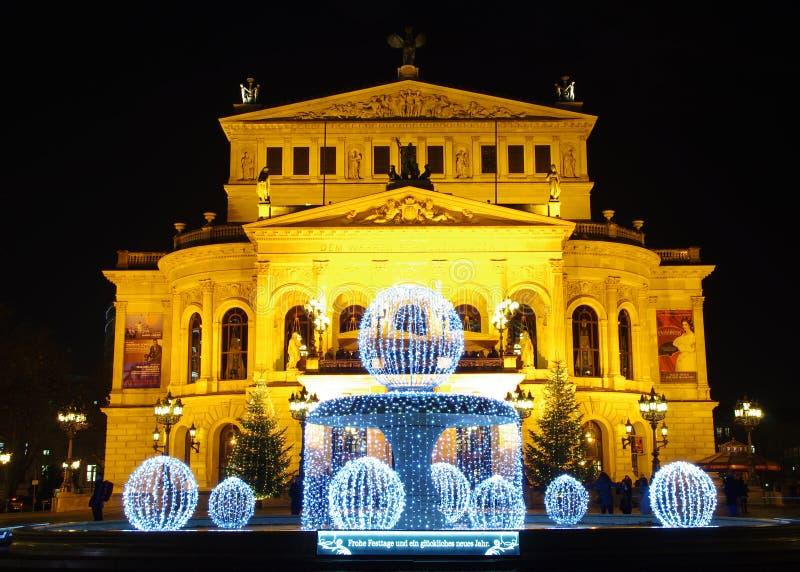 Alte Oper, Frankfurt-am-Main royalty-vrije stock fotografie