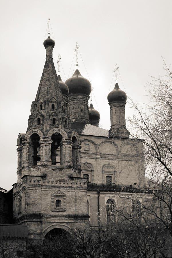 Alte orthodoxe Kirche. Krititskoye-Hof stockbild
