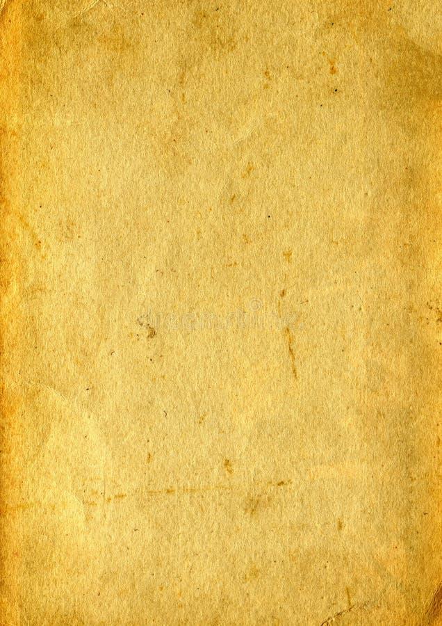 Alte Papierbeschaffenheit lizenzfreie stockfotografie