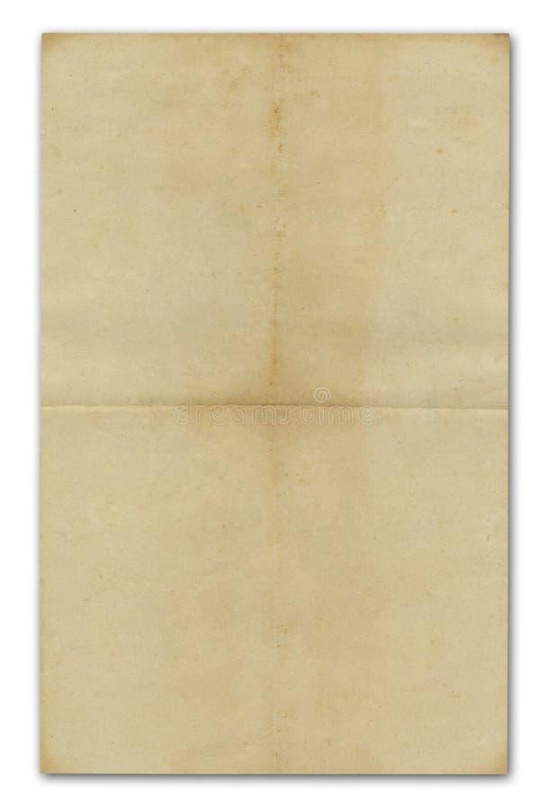 Alte Papierbeschaffenheiten stockfoto
