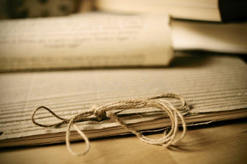 Alte Papiere stockbild