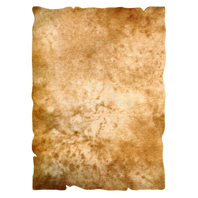 Alte papyr Papierbeschaffenheit vektor abbildung