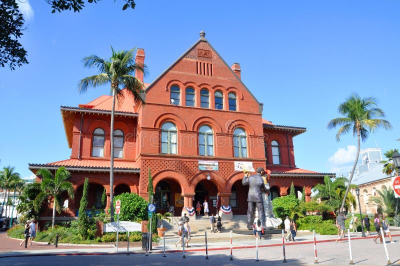 Alte Post und Customshouse, Key West stockbild