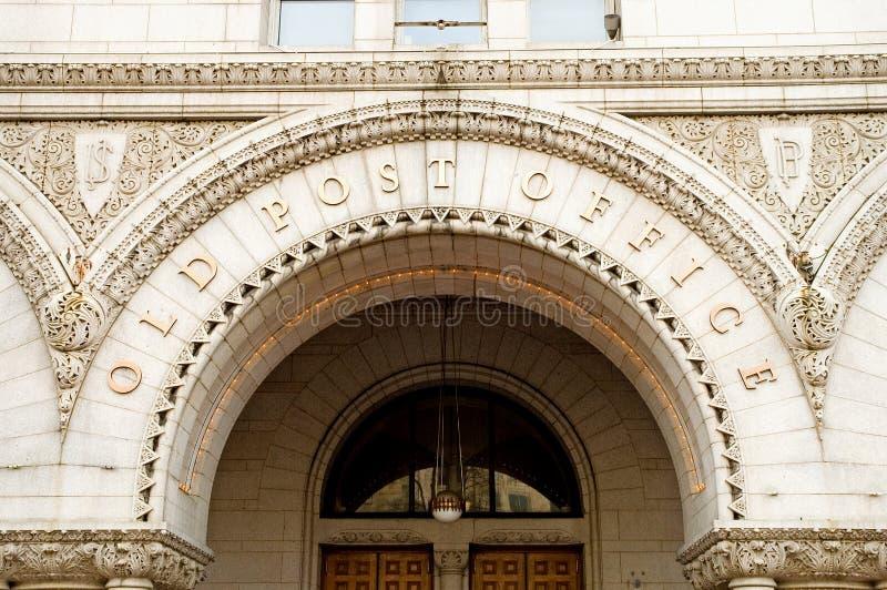 Alte Post, Washington, Gleichstrom stockbilder