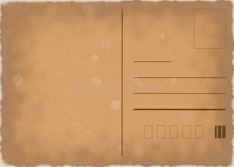 Alte Postkarte vektor abbildung