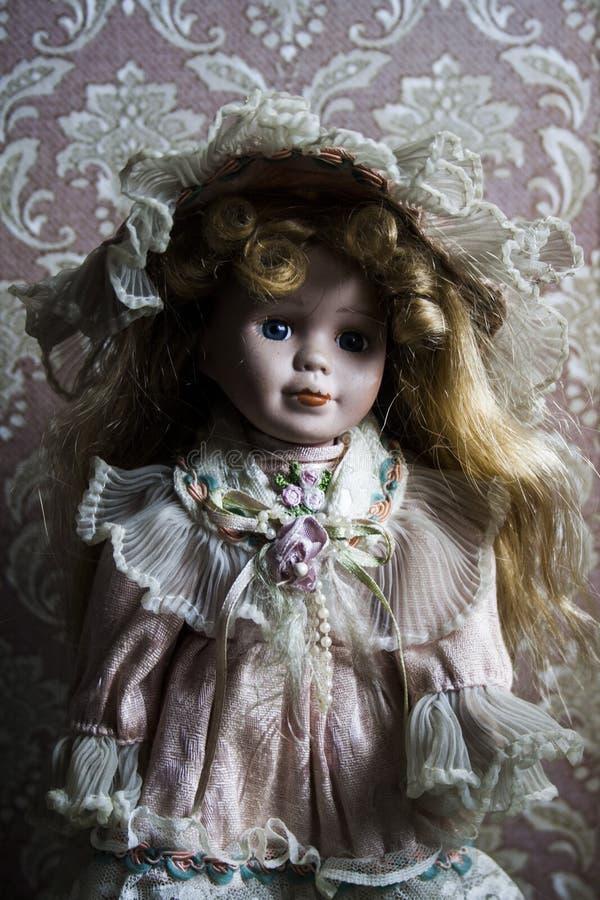 Alte Puppe stockbild