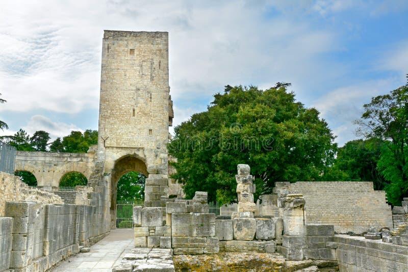 Alte römische Ruinen in Arles, Frankreich lizenzfreie stockbilder