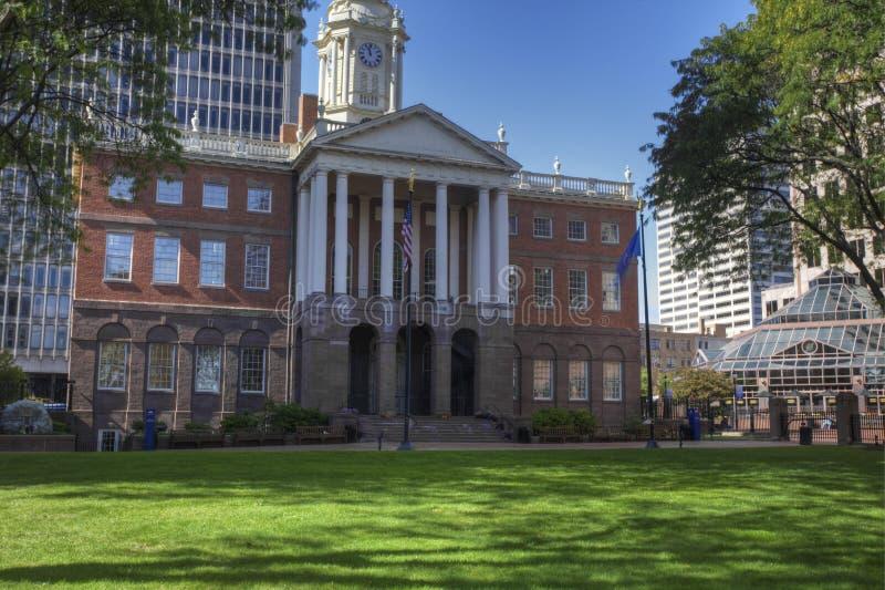 Alte Rathaus in Hartford, Connecticut stockbilder