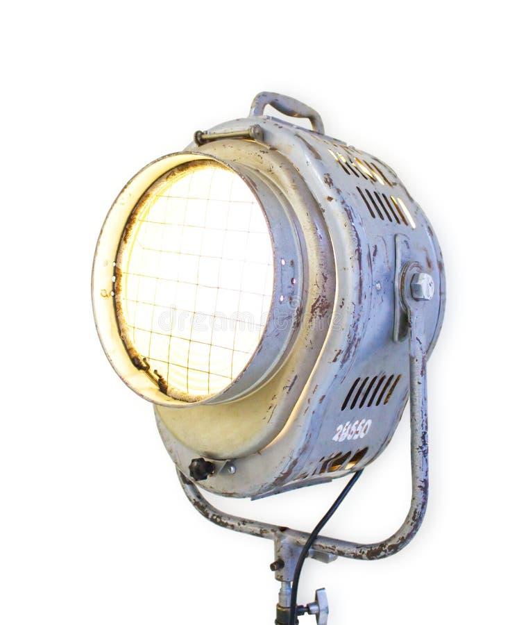 Alte Reflektorleuchte stockfotografie