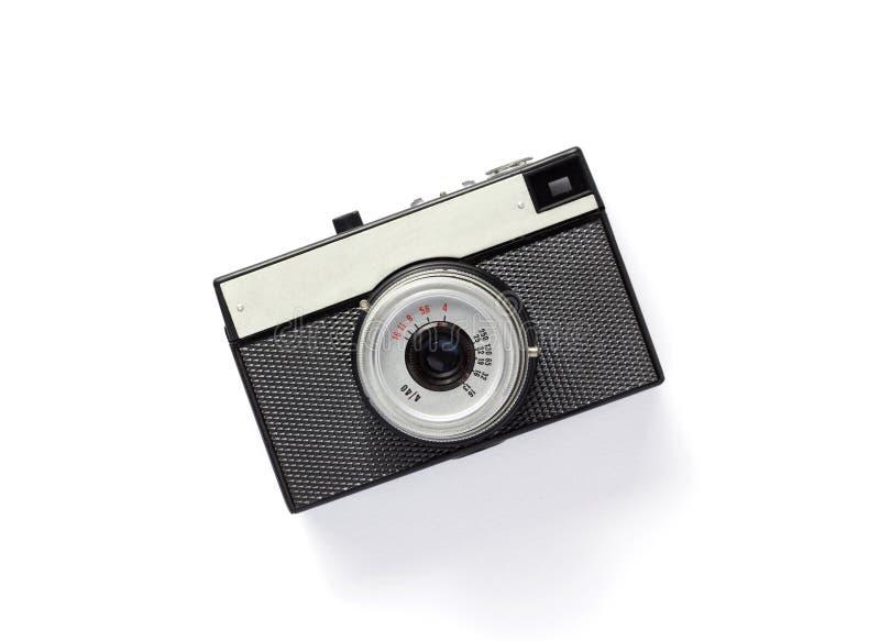 Alte Retro- Fotofilmkamera lizenzfreie stockbilder