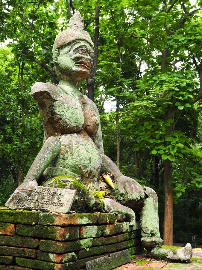 Alte riesige Statue lizenzfreie stockfotos
