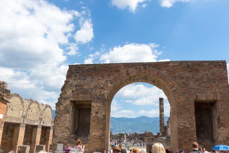 Download Alte Roman Pompei-Ruinen fotografía editorial. Imagen de herencia - 64204632