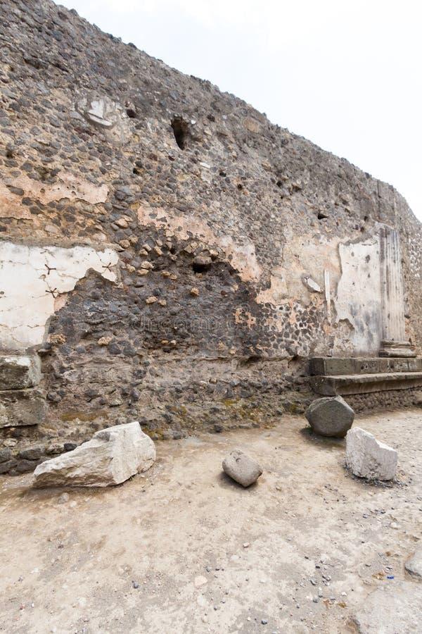 Download Alte Roman Pompei-Ruinen foto de archivo. Imagen de italia - 64204680