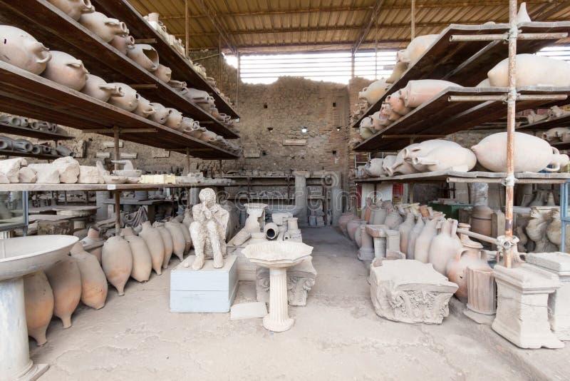 Download Alte Roman Pompei-Ruinen imagen de archivo. Imagen de cultura - 64205009
