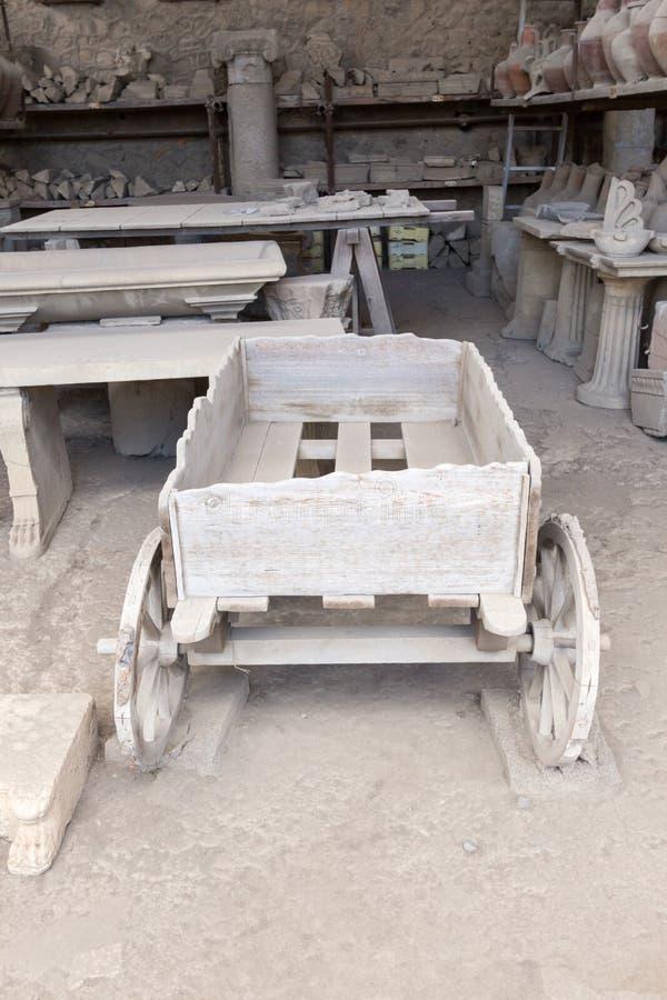 Download Alte Roman Pompei-Ruinen imagen de archivo. Imagen de europa - 64205455