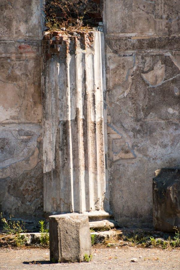 Download Alte Roman Pompei-Ruinen foto de archivo. Imagen de arqueológico - 64205958