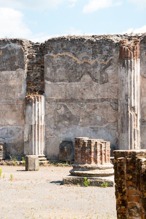 Download Alte Roman Pompei-Ruinen foto de archivo. Imagen de historia - 64206060