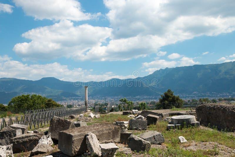 Download Alte Roman Pompei-Ruinen imagen de archivo. Imagen de historia - 64206417