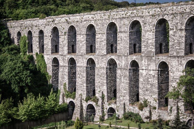 Alte Roman Water Aqueduct stockfotografie