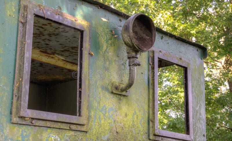Alte rosted Maschine stockbild
