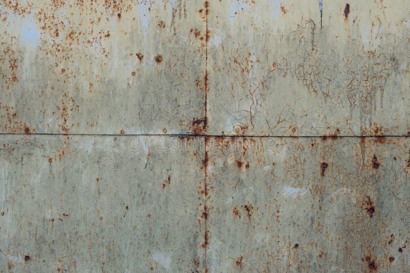 Alte rostige Blechwand Blechtafeln lizenzfreies stockbild