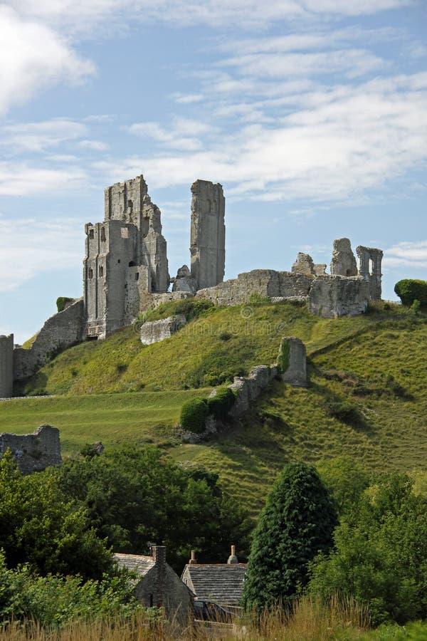 Alte Ruinen des Schlossforts lizenzfreies stockbild