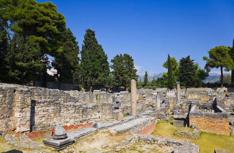 Alte Ruinen In Salona Stockbilder