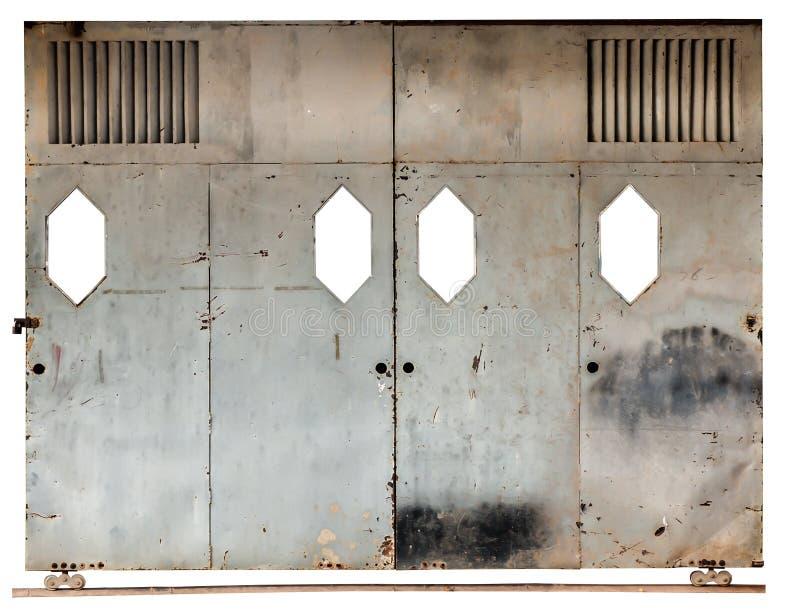 Alte Schiebetür alte schiebetür stockbild bild gatter geöffnet 48611299