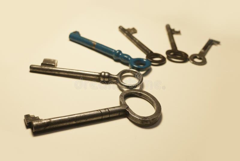 Alte Schlüssel lizenzfreies stockfoto