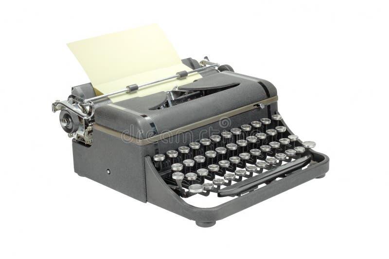 Alte Schreibmaschine - 2 stockbild