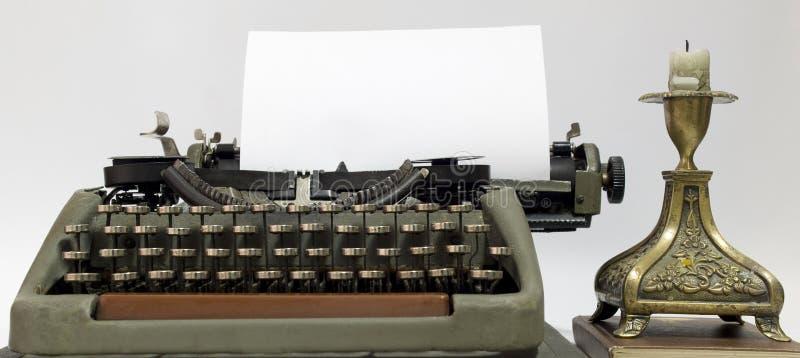 Alte Schreibmaschine stockbilder