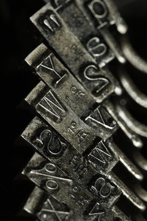 Alte Schreibmaschine imágenes de archivo libres de regalías