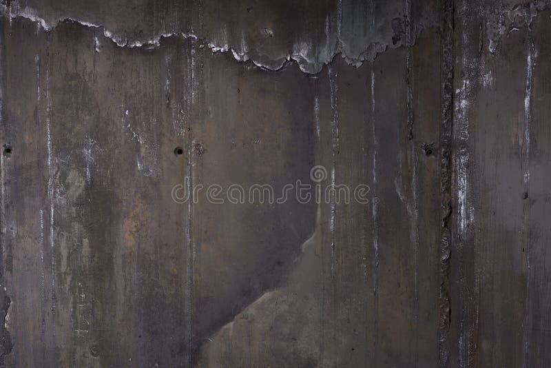 Alte schwarze Wand Grunge Beschaffenheitshintergrund stockfotos