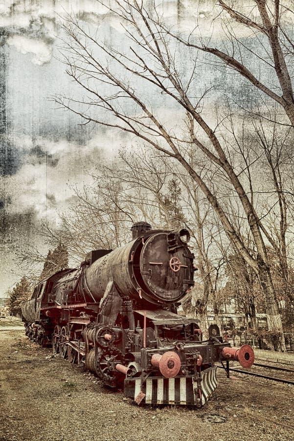 Alte Serie stockbilder