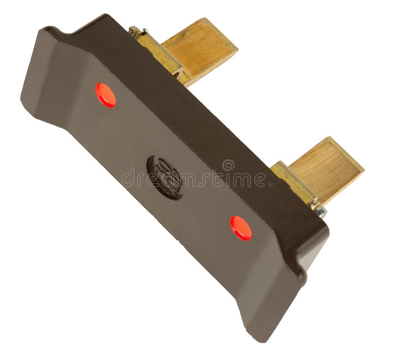 Alte Sicherung 30 Ampere lizenzfreie stockfotos