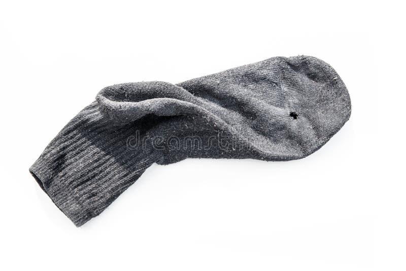 Alte Socke lizenzfreie stockfotografie