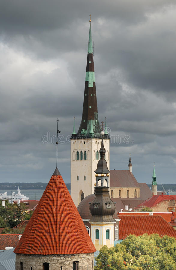 Alte Stadt. lizenzfreie stockfotografie