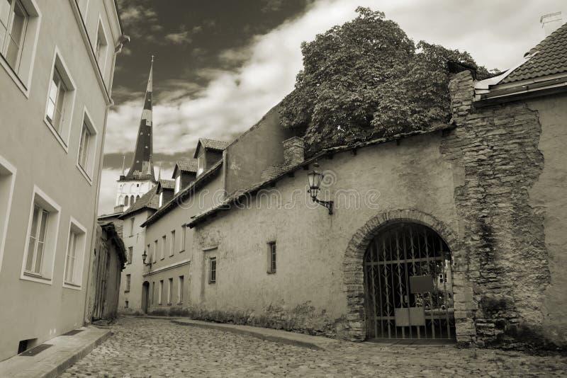 Alte Stadt. lizenzfreies stockbild