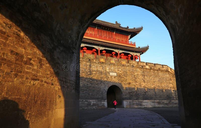 Alte Stadt Chinas, Jingzhou stockbilder