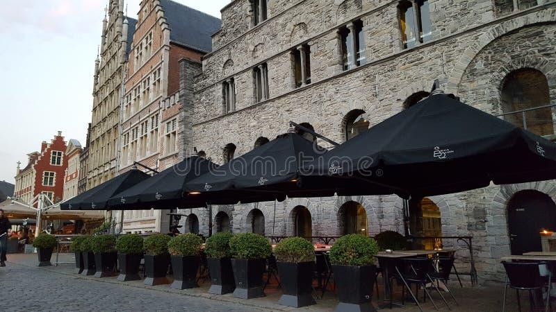 Alte Stadt Gents lizenzfreies stockfoto