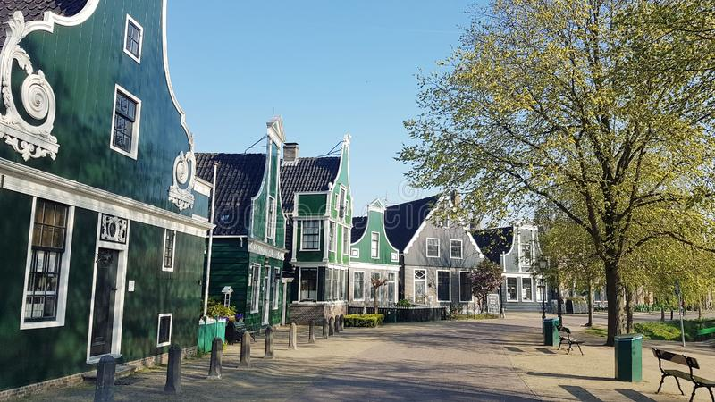 Alte Stadt in Holland lizenzfreies stockfoto
