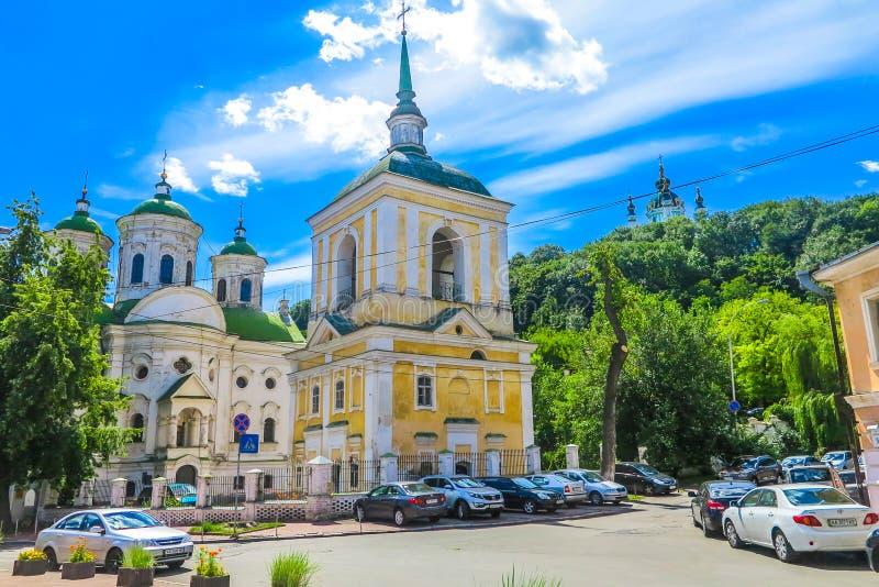Alte Stadt 02 Kiews lizenzfreie stockfotos