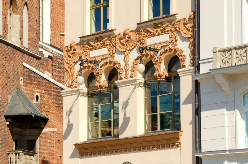 Alte Stadt in Krakau, Polen lizenzfreie stockbilder
