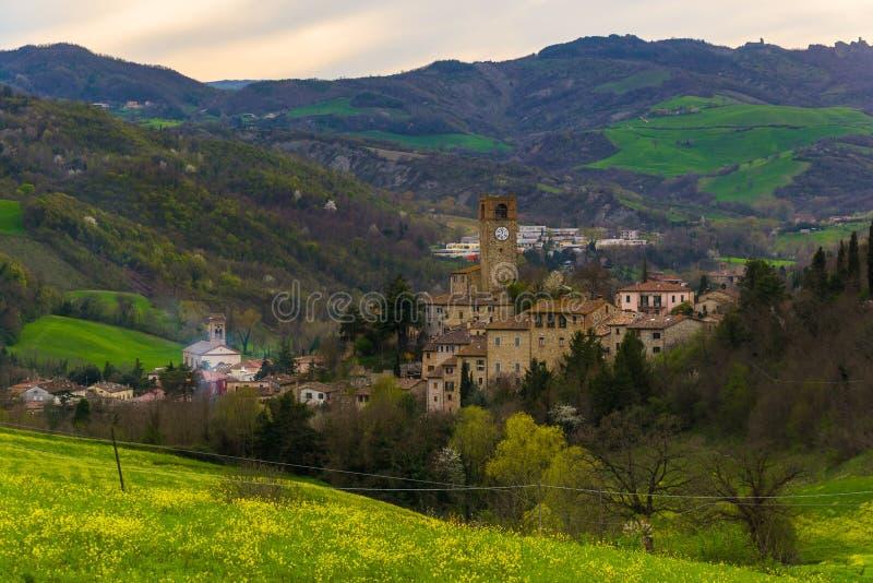 Alte Stadt Macerata Feltria lizenzfreie stockbilder