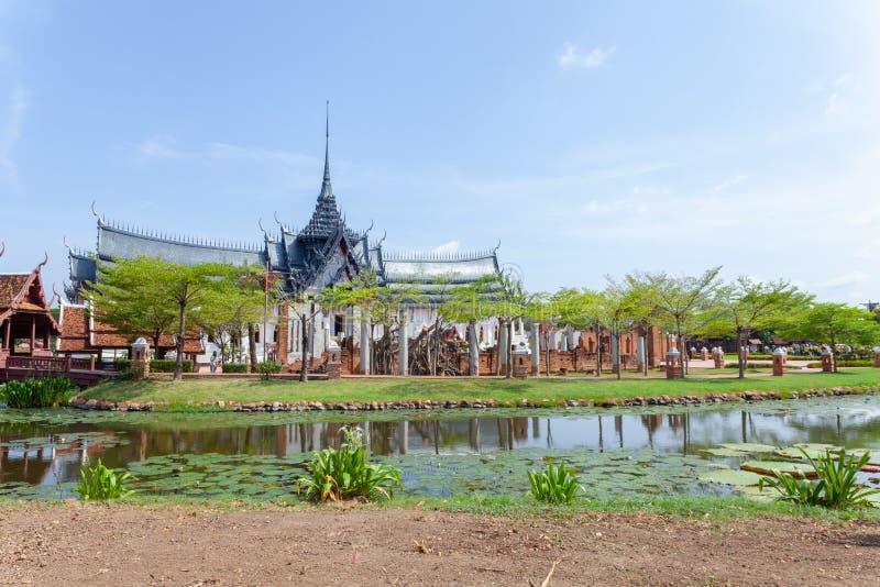 Alte Stadt Mueang Boran Bangkok stockfotografie