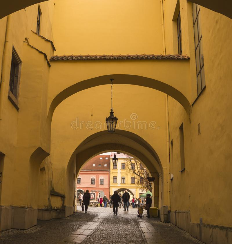 Alte Stadt Presov stockfotografie