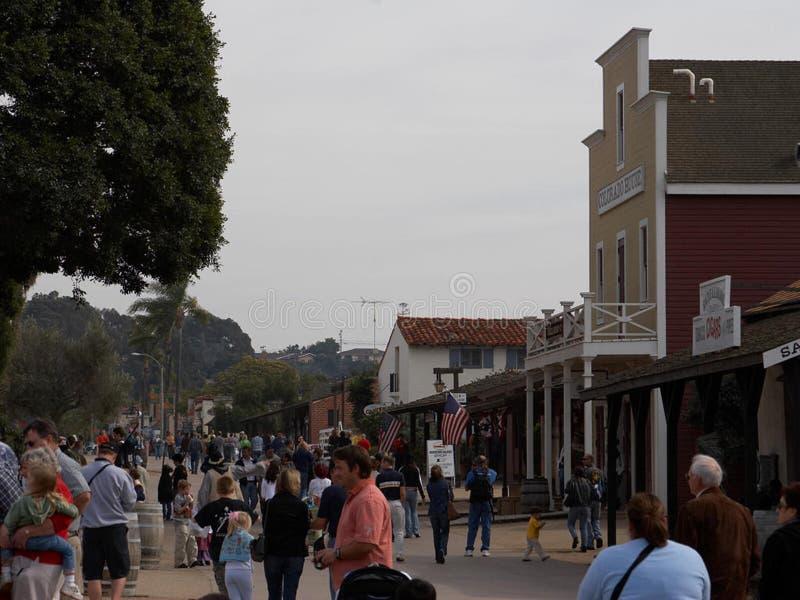 Alte Stadt San Diego lizenzfreies stockbild