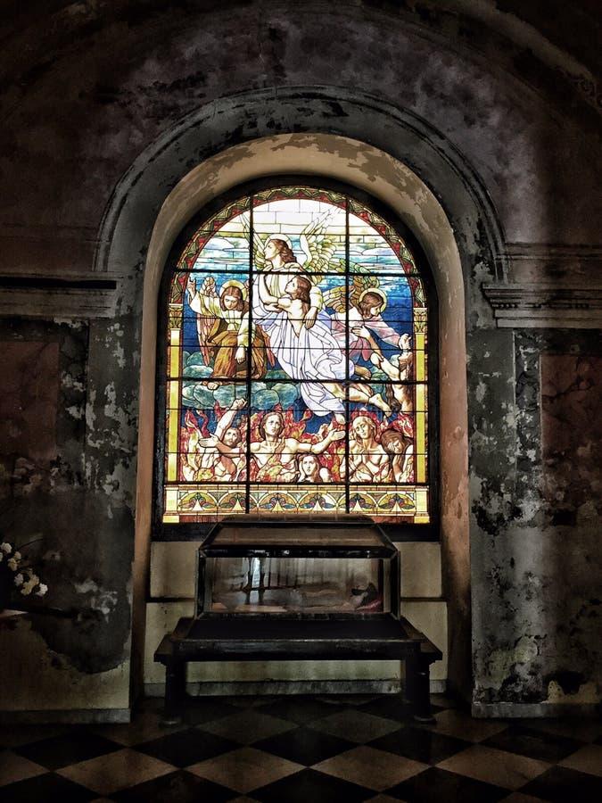 Alte Stadt San Juan Cathedral stockfotos