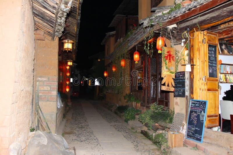 Alte Stadt, alte Stadt Shaxi mit mehr 2400 Jahren ` Geschichte lizenzfreie stockbilder