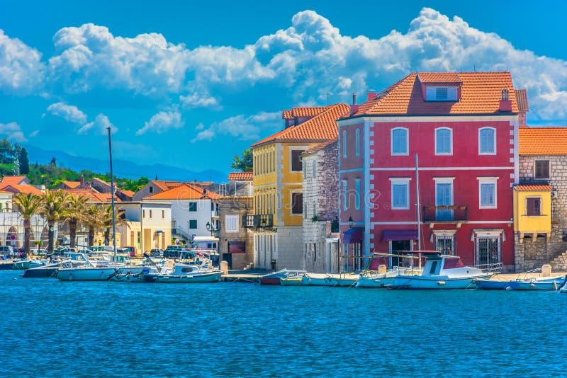 Alte Stadt Starigrad in Kroatien, Insel Hvar lizenzfreie stockfotografie